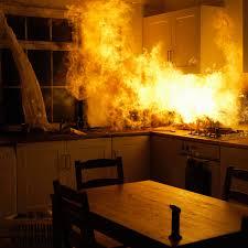 was tun wenn es zu hause brennt