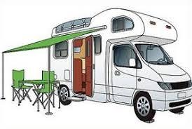 RV Class C Motor Home Clipart
