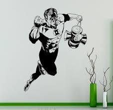 aliexpress com buy green lantern superhero wall vinyl sticker