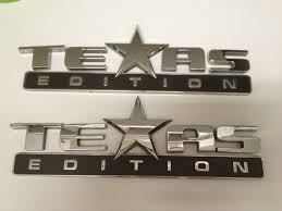 100 Truck Emblems Texas Edition Chevy S Accessories And