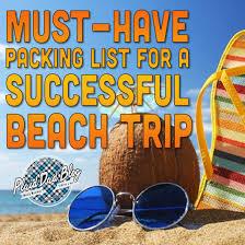 Packing List For A Successful Beach Trip