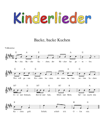 kinderlieder mit noten kinderlieder noten text