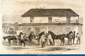 The Last White House Stable Was Built During Ulysses S Grants Administration And Housed Grant Familys Many Horses Including Prized Warhorses