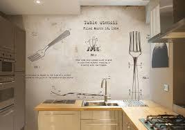 tapete für küche auswählen 20 ideen für wandgestaltung in