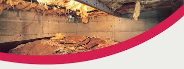 Floor Joist Jack Crawl Space by Wet Crawl Space Repair U0026 Encapsulation In Va Tn Nc U0026 Wv