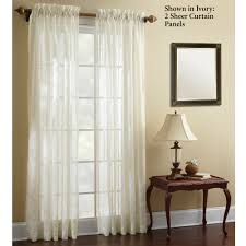 Jcpenney Sheer Curtain Rods by Decor Yellow Jc Penney Curtains With White Curtain Rods And White