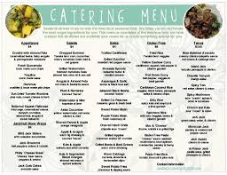 100 Seabirds Food Truck Catering Menu Lunch Catering Catering