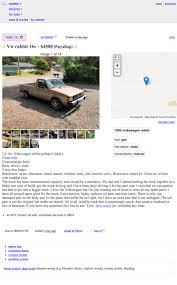 100 Craigslist Seattle Tacoma Trucks At 4500 Might This 16V 1983 VW Caddy Tee Up Some Good Times