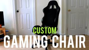 How To Make Your Own PC Gaming Chair 2018 Custom Gaming Chair Mod Building A Diy Flightdriving Sim Pit On Budget Vrspies 8 Ways To Stop Your From Rolling Rig 8020 Alinum No Cutting Involved Simracing Brilliant Diy Desk Pc Modern Design Models Homemade Big Tv Pc Gaming Chair Youtube How Build Pcps3xbox Racing Wheel Setup In Nohallerton North Chairs Light Brown Fniture Jummico X Rocker Mission A Year Of Pc With Standing Desk Gamer F1 Seat
