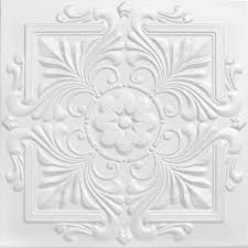 24 X 24 Inch Ceiling Tiles by Victorian Parlor Faux Tin Ceiling Tile 24