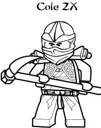 Lego Ninja Coloring Pages The Black Of Page For Kids Free Turtle Ninjago