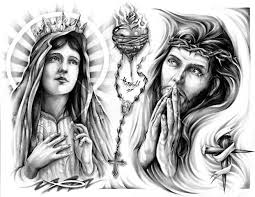 Drawings Of Mary Mother Jesus