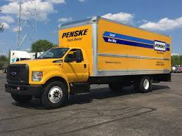 100 Penski Truck Penske Rental 2017 Ford F650 V10 GasHydraulic Brake Flickr