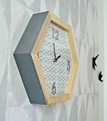 design wanduhr küchenuhr uhr wohnzimmer hygge look