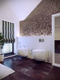 Large Modern Bathroom Rugs by Bathroom Oval Ceramic Bathtub Cream Tile Floor Wall Lighting