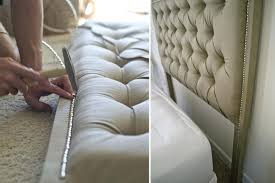 Skyline Button Tufted Headboard by Headboard Button Tufted Upholstered Headboard Diy Button Tufted