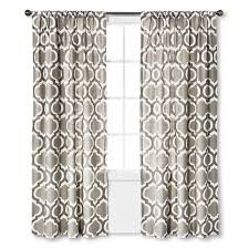 Gray Linen Curtains Target by Linen Look Fretwork Curtain Panel Gray Marble Threshold Target