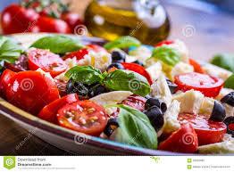 cuisine italienne caprese salade caprese salade italienne salade méditerranéenne