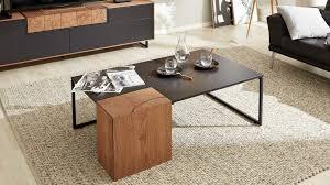 interliving wohnzimmer serie 2106 couchtisch mit stauraum 620962 schieferschwarz raucheiche eine tür ca 125 x 75 c