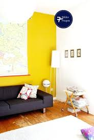 This Is Mustard Yellow Walls Collection Trendy Family Room