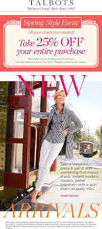 Talbots Coupons - 25% Off Everything At Talbots, Ditto Online 50 Off Talbots Coupons Promo Discount Codes Wethriftcom Dealigg Coupons Helpers Chrome The Perfect Cropchambray Top Savings Deals Blogs Dudley Stephens New Releases Coupon Code Kelly In The City Batteries Plus Coupon Code Discount 30 Off Entire Purchase Store Macys 2018 Chase 125 Dollars