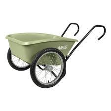Ames 5 cu ft Total Control Garden Cart TCCARTH The Home Depot
