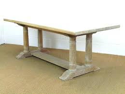 Limed Oak Coffee Table Furniture Heals 7 Dining Large