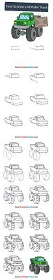 Learn How To Draw A Monster Truck: Easy Step-by-Step Drawing ... How To Draw The Atv With A Pencil Step By Pick Up Truck Drawing Car Reviews 2018 Page Shows To Learn Step By Draw A Toy Tipper 2 Mack 3d Pickup 1 Cakepins Truck Youtube Cars Trucks Sbystep Itructions For 28 Different Vehicles Simple Dump Printable Drawing Sheet Diesel Drawings Best Of Monster An F150 Ford