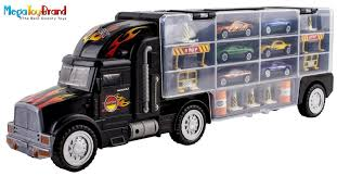 Matchbox Cars Transport Semi Truck 28 Slots Hot Wheels Highway Set ... 11 Of The Best Toy Semi Trucks For Revved Up Kids In 2017 Rc Velocity Toys Ertl 15978 John Deere Truck With Grain Hauler Trailer Ebay Paw Patrol Patroller Walmartcom Stop Pictures Long Haul Trucker Newray Ca Inc Monster Treads Tractor And 2pack At Toystop Tamiya 114 Ford Aeromax 6x4 Kit Tam56309 Cars Bestchoiceproducts Rakuten Choice Products Transport City Peterbilt Farm For Fun A Dealer