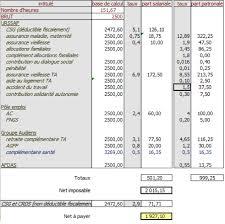 simulation de bulletins de paie pour les salariés du spectacle en