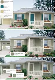 Behr Exterior Paint Color Chart Exterior Paint Color Palette