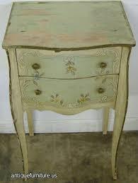 antique john widdicomb paint decorated nightstand at antique