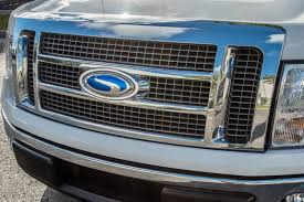 100 Ford Truck Emblems Steeda 9 Embossed Blue Oval Sidewinder Emblem For 2004 2014 F