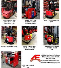 Raymond Lift Truck Liquidation | Always Equipment Inc