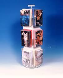12 Pocket Revolving PLASTIC Counter Display 5 3 8 In Pockets