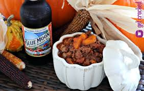 Harvest Pumpkin Ale Blue Moon by Get Crocked U2013 Slow Cooker Blue Moon Harvest Pumpkin Chili