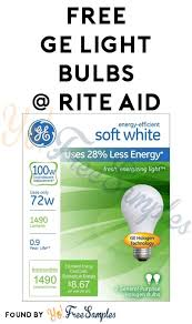 new coupon free ge light bulbs at rite aid coupon required yo