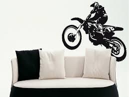 stickers muraux moto on decoration d interieur moderne 3d