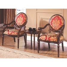 Best Master Furniture KF91027 Maddison Traditional Living Room Accent Chair  & Table Set, 24