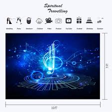 Amazoncom Music Night Backdrop Blue Photography Backgrounds