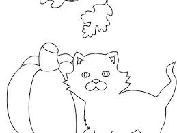 Halloween Coloring Pages Cat