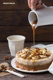milchreis torte ohne backen mit bananen karamell und