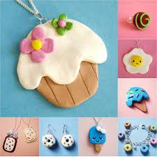 faire et fabriquer bijoux gourmands en pâte fimo gourmands