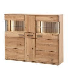 150x121x37 cm wohnzimmer schrank in eiche bianco crupean