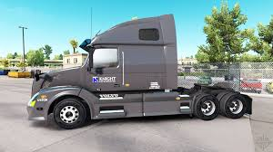 Skin On Knight Refridgeration Truck Volvo VNL670 For American Truck ... Report Driver Turnover Rises As Shortage Looms Nationwide Equipment Knight Transportation Owner Operator On I17 In Phoenix Arizona Analyst Swiftknight Mger Will Have Little Effect Driver Force Truck Trailer Transport Express Freight Logistic Diesel Mack Skin Pack Ats Mods Summation Truck Companies The Knightswift Mger Biggest Us Trucking Swift Trucking Companies Give Back Stock Gains After
