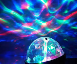 kaleidoscope light show projector