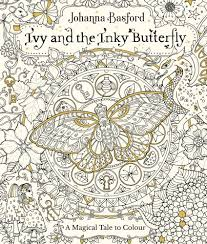 The Winners Will Receive Beautiful Book Ivy And Inky Butterfly By Johanna Basford
