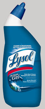 lysol hydrogen peroxide toilet bowl cleaner cool spring breeze