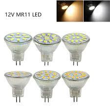 mini mr11 g4 led spotlight bulb 12v 3w 5w 7w cup l 9leds 12leds