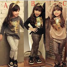 New T Shirt Pants Baby Kids Clothing Sets 2 Pcs Sellfashion Girls Set